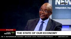 Sipho Pityana during an interview on SABC.