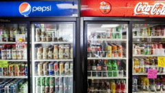 Pepsi and Coca Cola drinks