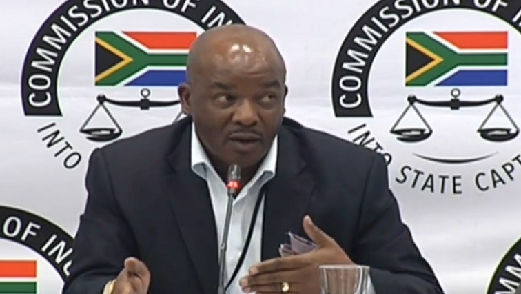 SABC News Thabo Ntshisi  - Major Ntshisi admits he lied about Gupta family's landing