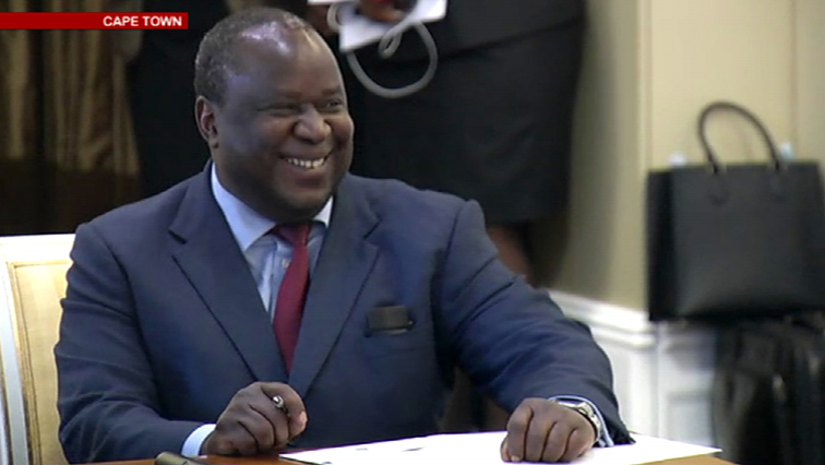SABC News Tito Mboweni - Mboweni comes under heavy criticism for SABC's bailout letter