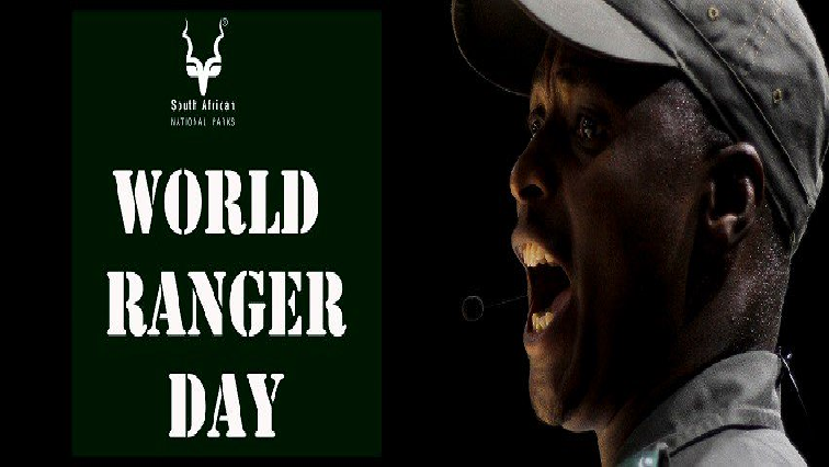 SABC News World Ranger Day Twitter @SANParksKrNP - International Rangers Day to be celebrated on Wednesday