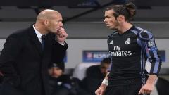 Zinadine Zidane and Gareth Bale