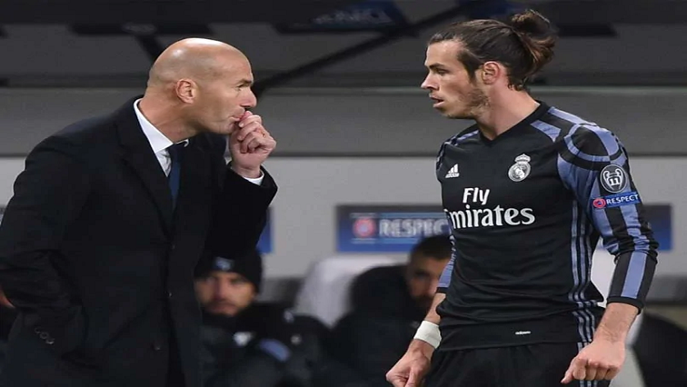 Zinadine Zidane and Gareth Bale
