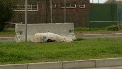 Homeless people sleeping on Cape Town streets will be fined.