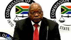 Jacob Zuma testifying