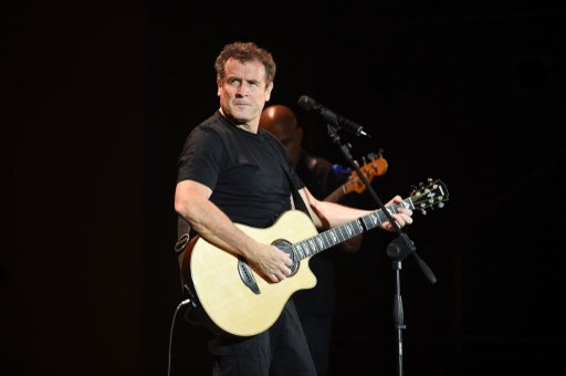 Johnny Clegg performing