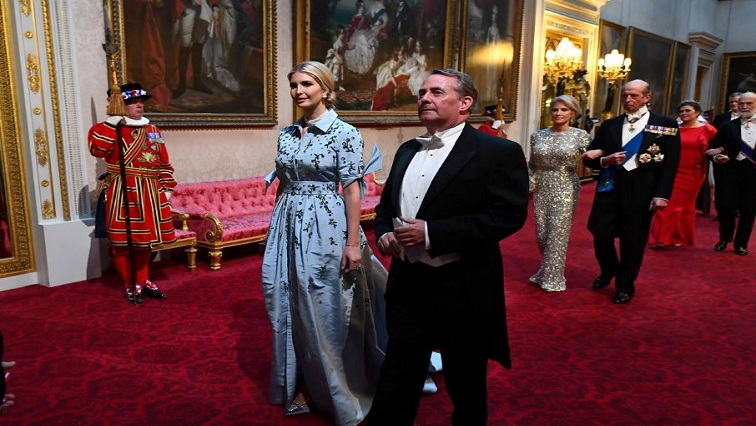 Ivanka Trump and Secretary of State for International Trade, Liam Fox
