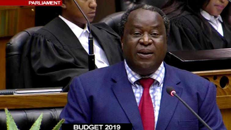 Finance Minister Tito Mboweni