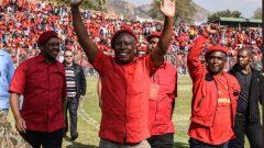 Malema arries