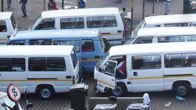 taxis 1 1 - Commuters stranded as Bloemfontein taxi drivers embark on strike