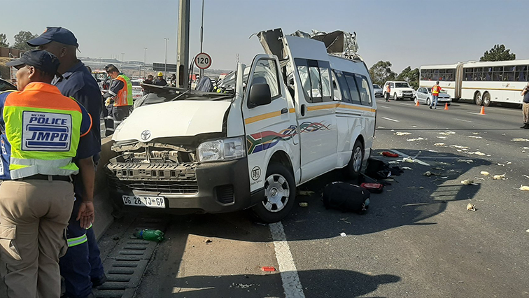 SABC News Accident 1 Twitter @AskTheChiefJMPD - Santaco laments limited powers in dealing with taxi accidents