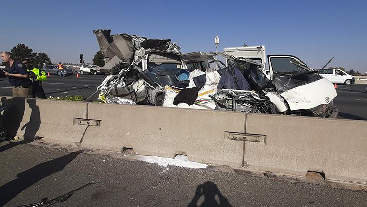 SABC News Accident 3 Twitter @JMPD - Nine killed in JHB crash