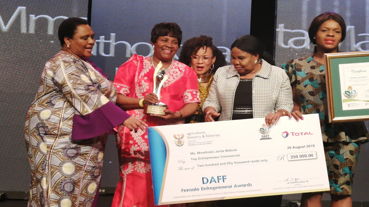 SABC News Awards P - Women entrepreneurs in agriculture get recognition
