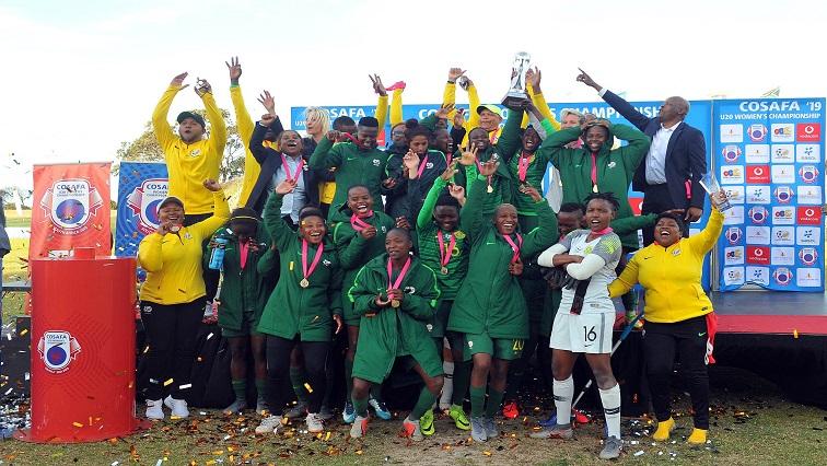 SABC News Banyana Twitter 4 - Banyana make it a hat-trick of Cosafa Women's Championship titles