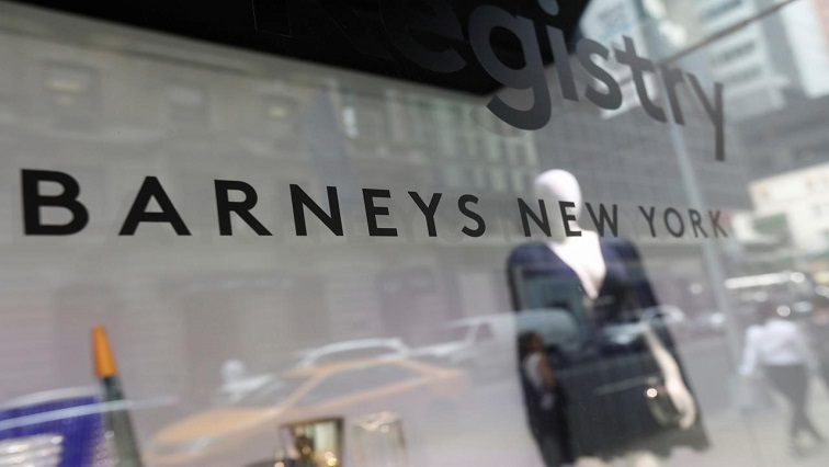 SABC News Barneys Reuters - Luxury department store Barneys files for bankruptcy protection