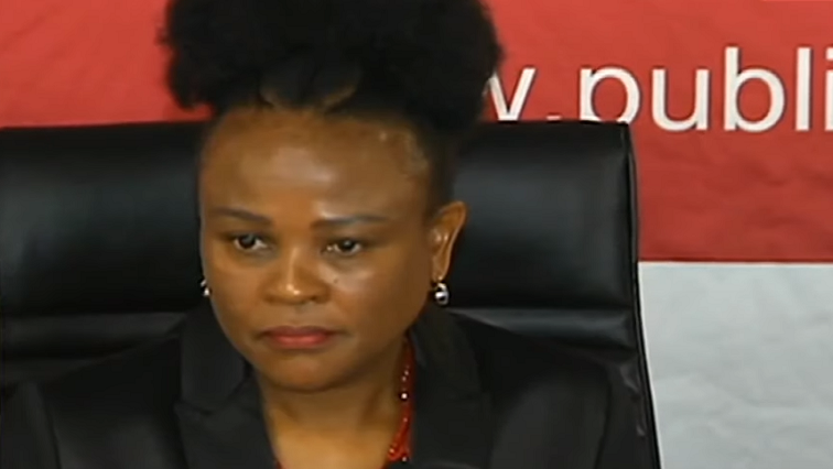 SABC News Busisiwe Mkhwebane - Mkhwebane vows to continue her work without fear or favour