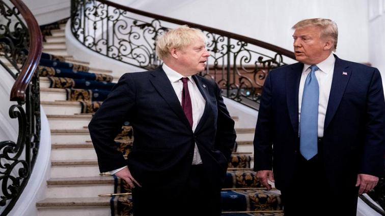 SABC News Donald Trump Reuters - Trump dangles 'very big' trade deal in front of Brexit Britain
