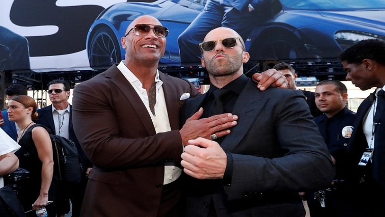 SABC News FF Reuters - Box Office: 'Hobbs & Shaw' finishes in first place with $60 million