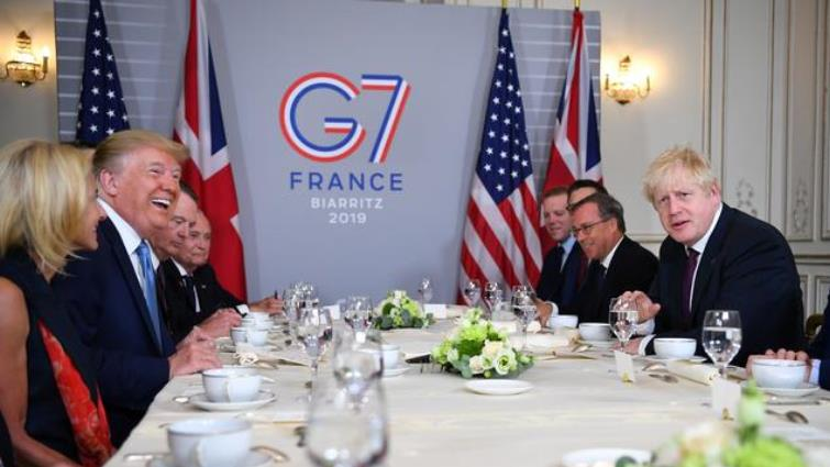 SABC News France G7 leaders Reuters - Trade wars lead to recession, harm world economy: G7 leaders