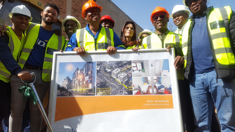 SABC News Inner City Project Twotter @CityofJoburgZA - City of Jo'burg holds ceremonies for properties earmarked for redevelopment