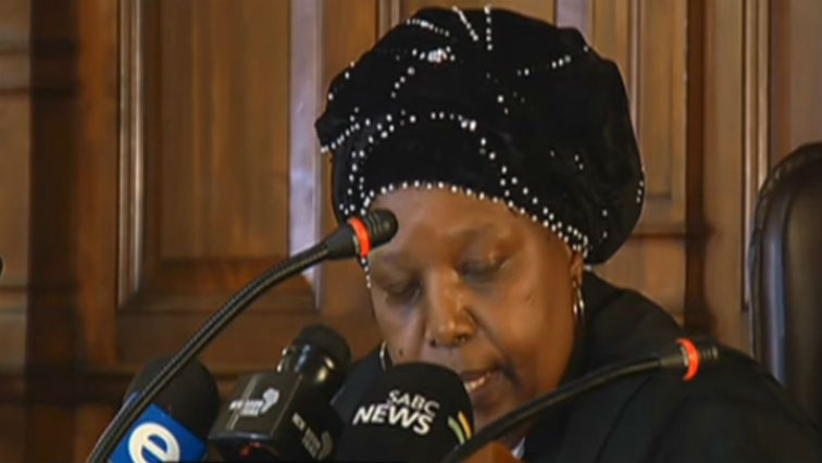 SABC News Judge Letty Molopa Sethosa - Ramaphosa granted interim order allowing remedial action delay against Gordhan