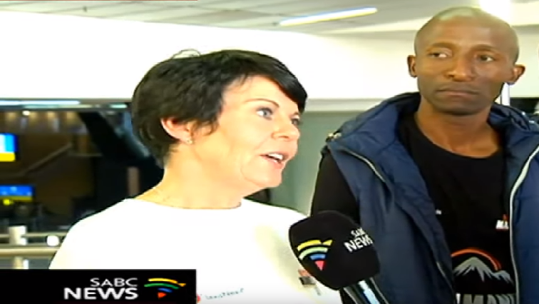 SABC News Mari Van Wyk - 'This year's climb is to demonstrate women power'
