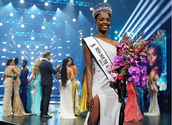 SABC News Miss SA 1 - Zozibini Tunzi crowned Miss South Africa 2019