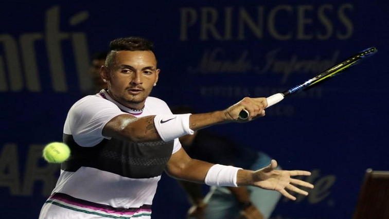 SABC News Nick Kyrgios R - Kyrgios beats Tsitsipas to book spot in the Citi Open final