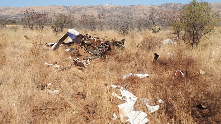 SABC News Plane Crash Twitter @ER24EMS - Two die after small plane crashes near Hartbeespoort Dam