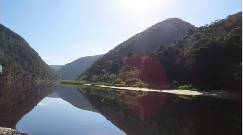 Keurbooms River area at Plettenberg Bay in the Southern Cape.