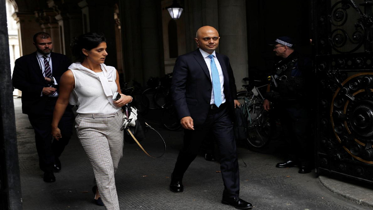 SABC News Sajid Javid Reuters - UK delays public spending review to focus on Brexit