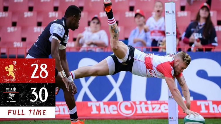 SABC News The Sharks The Lions Twitter @LionsRugbyCo - Sharks sink Lions to second defeat