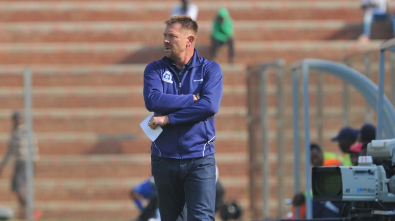 Eric Tinkler on the field