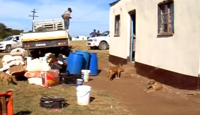 SABC News Toto Madikizela home R - Police commended following arrests of suspects in elderly woman's murder