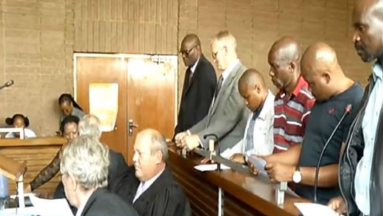 SABC News William Mpembe others - Former North West deputy police Commissioner William Mpembe's trial continues