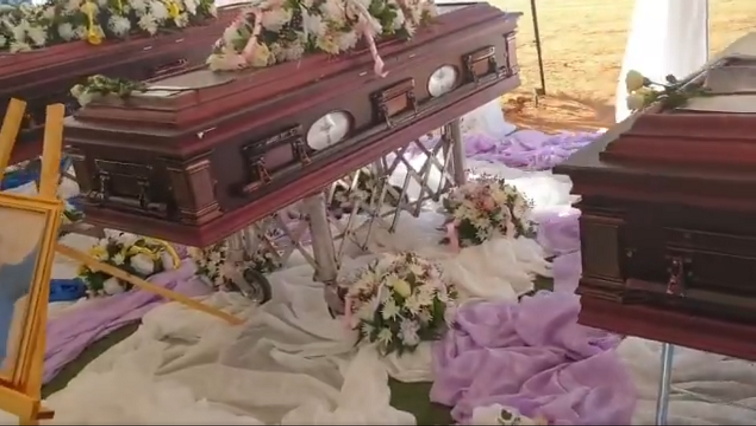 SABC News mass burial 1 - Sombre mood as another maiden buried following fatal KZN crash