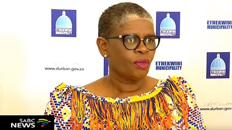 SABC News zandileGumede P - Gumede buckles under ANC pressure