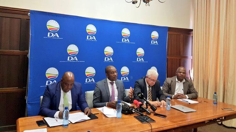 SABC News DA - SA's economy 'on verge of collapse': DA