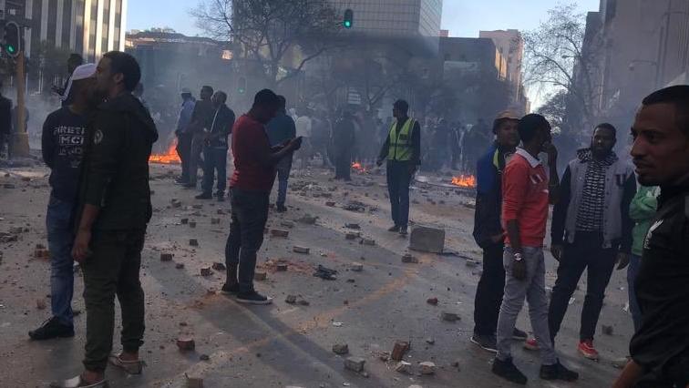 SABC News Johannesburg Twitter@Mzwezwe8 - Police to return to Joburg CBD to conduct raid