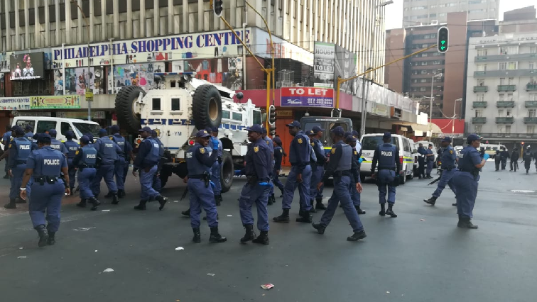 SABC News Police raid 1 - Undocumented foreign nationals to appear in court on Monday