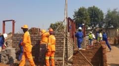 Women building