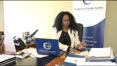 Tamara Mathebula CGE chair