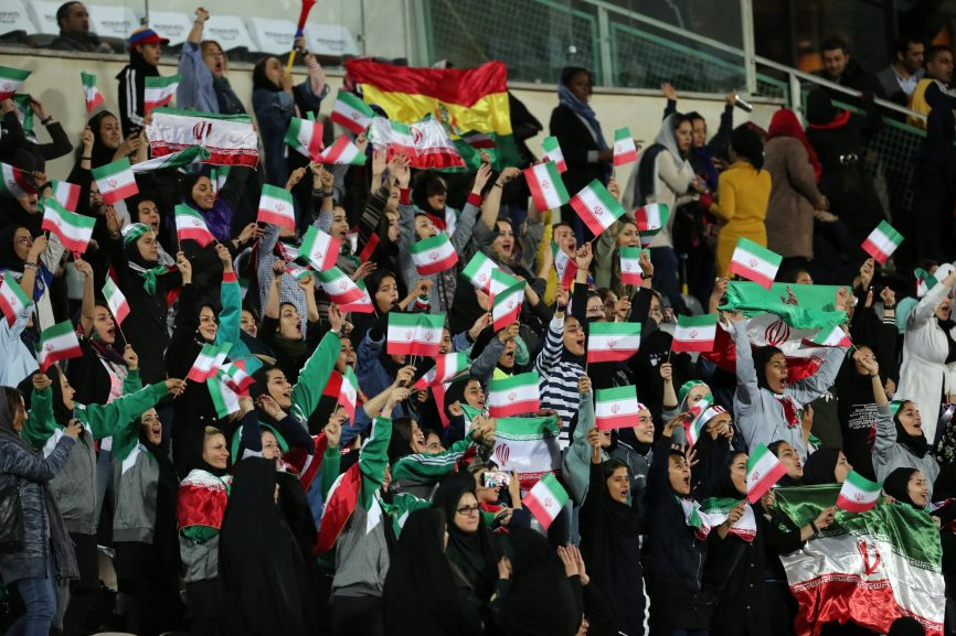 SABC DIGITAL NEWS WOMENS SOCCER IRAN PICTURE 866x577 - Freedom for Iranian women in soccer stadiums