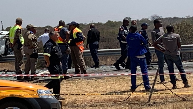 SABC News Accident 2.jpg Twitter@ - Seven bodies recovered at N1 crash scene