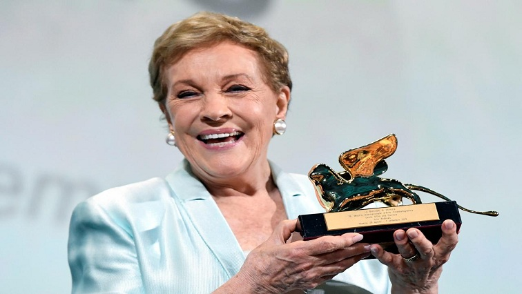 SABC News Andrews Reuters 1 - 'Blessed' Julie Andrews gets lifetime achievement award in Venice