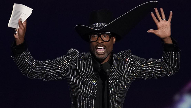 SABC News Billy Porter R - Gay performers shine with several wins at the Emmy Awards