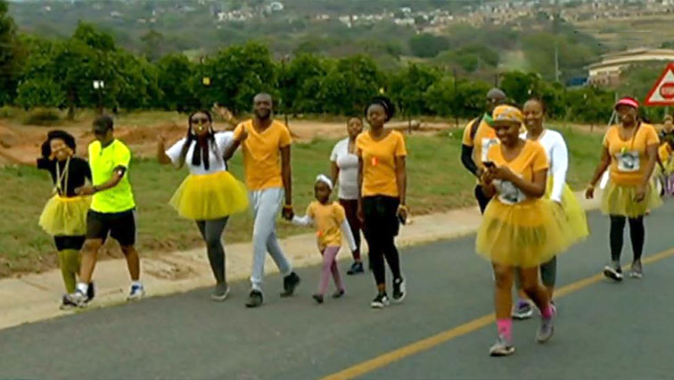 SABC News Cancer walk - Mpumalanga fun walk raises funds for children suffering from cancer