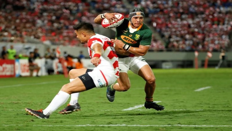 SABC News Cheslin Kolbe R - Kicking strategy may backfire at World Cup: Kolbe