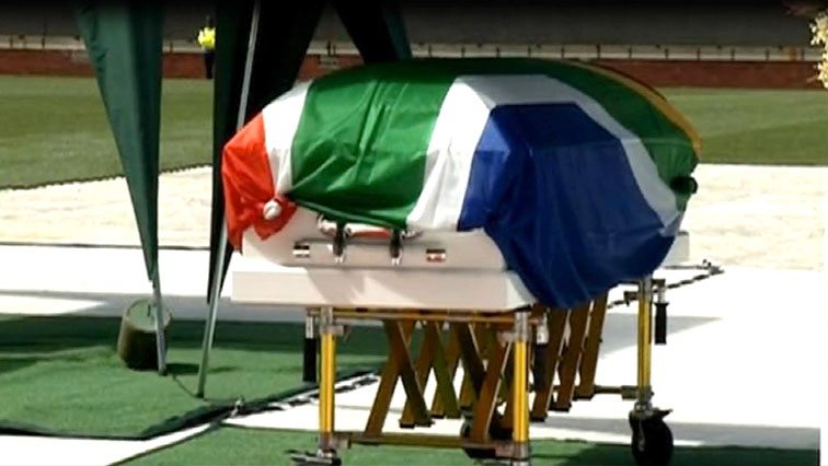 SABC News Chester coffin - Mourners hail rugby legend Chester Williams as a hero