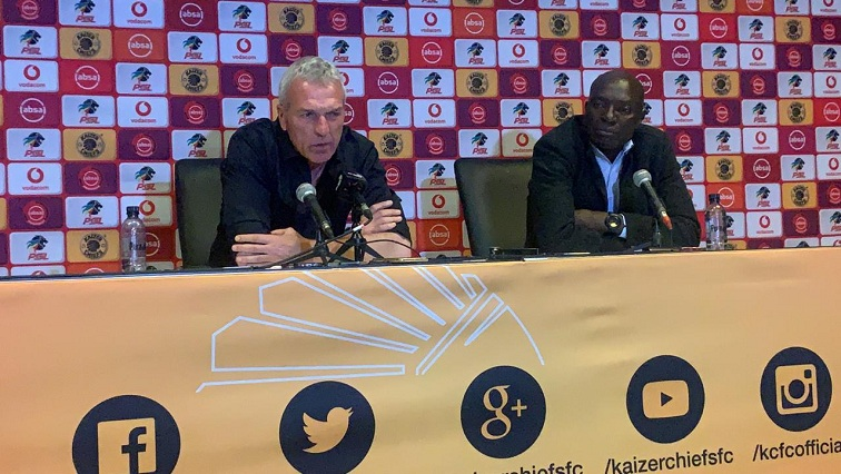 SABC News Chiefs SABCIH - Middendorp shoulders blame for Khune's latest injury